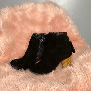 Rue 21 Black booties size 6